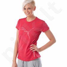 Marškinėliai bėgimui  PUMA PR Graphic W 51192202