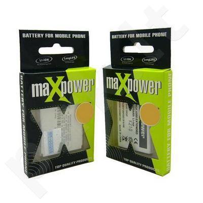 Nokia BL-6P atitinkanti baterija Maxpower juoda