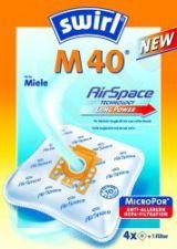 Maišeliai dulkių siurbliams SWIRL M40/4 MP3 D.s. filtras