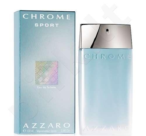 Azzaro Chrome Sport, tualetinis vanduo (EDT) vyrams, 100 ml