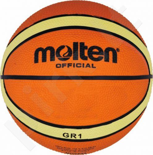 Krepšinio kamuolys rubber BGR1