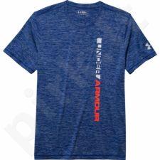 Marškinėliai treniruotėms Under Armour Tech Vertical Wordmark M 1261380-420