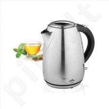 Virdulys ETA Kettle ETA859890000 Standard kettle, Stainless steel, Stainless steel, 2200 W, 360° rotational base, 1.7 L