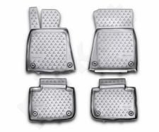 Guminiai kilimėliai 3D LEXUS GS 250 2012->, 4 pcs. /L41014G /gray