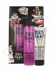 Tigi Bed Head Dumb Blonde, rinkinys šampūnas moterims, (400ml Bed Head Dumb Blonde šampūnas + 200ml Bed Head Dumb Blonde Reconstructor)