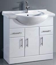 Vonios kambario spintelė su praustuvu D85