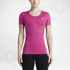 Marškinėliai treniruotėms Nike Pro Cool Short Sleeve W 725745-616