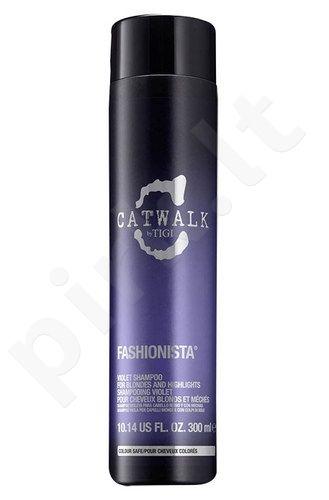 Tigi Catwalk Fashionista Violet šampūnas, kosmetika moterims, 300ml