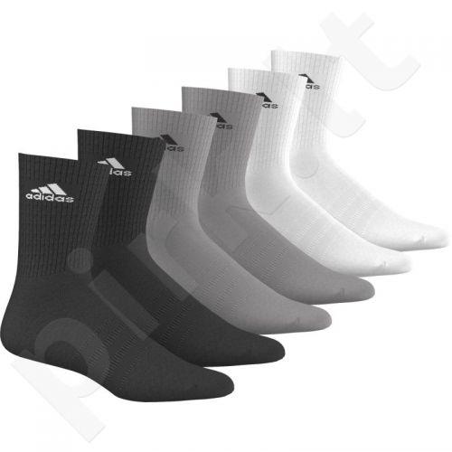 Kojinės Adidas 3 Stripes Performance CR HC 6pak AA2296