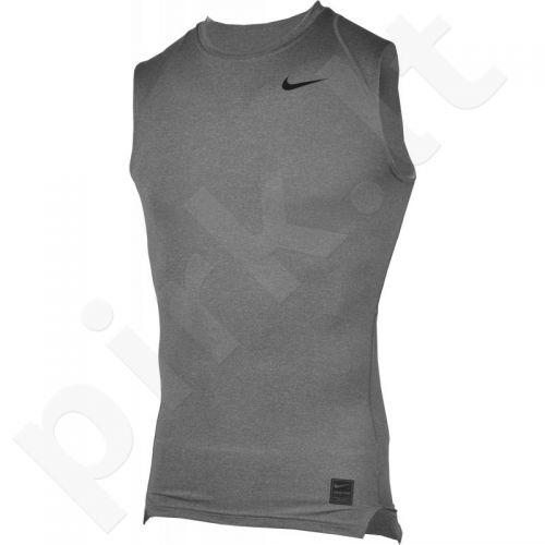 Marškinėliai termoaktyvūs Nike Core Compression SL 703092-091