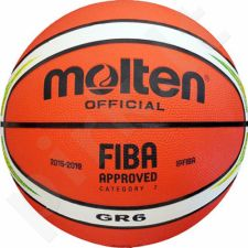Krepšinio kamuolys Molten GR-YG RIO 2016 replika