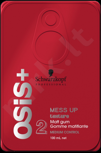 Schwarzkopf Osis+, Mess Up, For Definition and plaukų formavimui moterims, 100ml