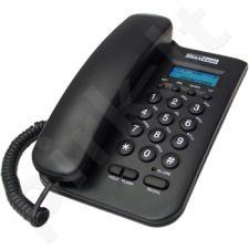 MaxCom KXT100 laidinis telefono aparatas, juodas