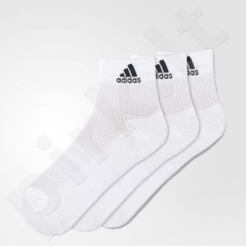 Kojinės Adidas 3 Stripes Performance Ankle Half Cushioned 3pak AA2285