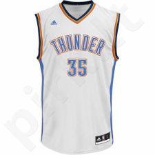 Marškinėliai krepšiniui adidas Replica Jersey Oklahoma City Thunder Kevin Durant L71438