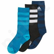 Kojinės Adidas Young Athletes Boys Graphic Kids 3pak CD2860