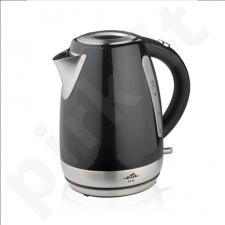 ETA Kettle ETA859890020 Standard kettle, Stainless steel, Black, 2200 W, 360° rotational base, 1.7 L