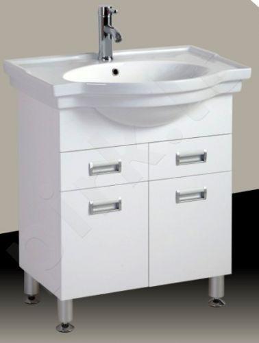 Vonios kambario spintelė su praustuvu A206
