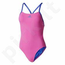Maudymosi kostiumėlis Adidas 3-Stripes Swimsuit Infinitex+ W BP5300