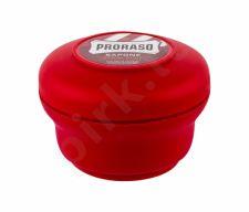 PRORASO Red, Shaving Soap In A Jar, skutimosi putos vyrams, 150ml