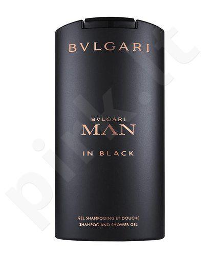 Bvlgari Man In Black, dušo želė vyrams, 200ml