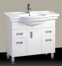 Vonios kambario spintelė su praustuvu A208