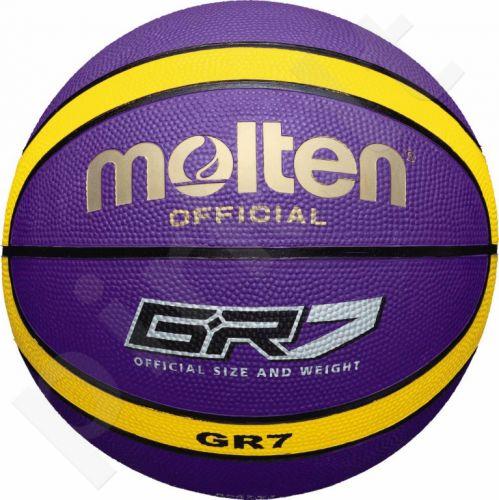 Krepšinio kamuolys rubber BGR7-VY