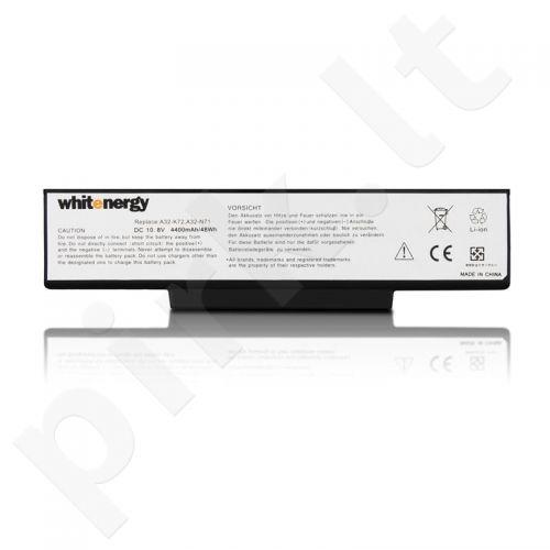 Nešiojamo kompiuterio baterija Whitenergy Asus A32-K72 11.1V 4400mAh juoda