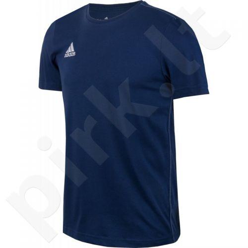 Marškinėliai futbolui Adidas Core Training Tee Jr S22387