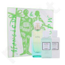 Hermes Un Jardin Sur Le Nil rinkinys moterims, (EDT 100 ml + kūno losjonas 40 ml + dušo želė 40 ml)