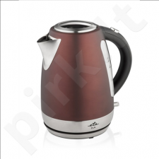 ETA Kettle ETA859890050 Standard kettle, Stainless steel, Burgundy, 2200 W, 360° rotational base, 1.7 L