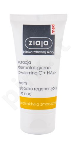 Ziaja Med Dermatological Treatment, Revitalizing Day and Night Essence, dieninis kremas moterims, 30ml