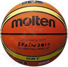 Krepšinio kamuolys rubber BGR7-WCM