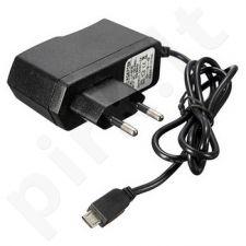 micro USB sieninis įkroviklis 1A Maxpower juodas