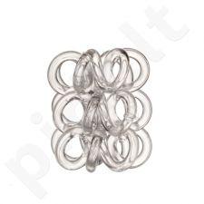 Invisibobble Nano plaukų gumytė, kosmetika moterims, 3vnt, (Crystal Clear)