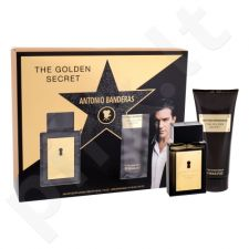 Antonio Banderas The Golden Secret rinkinys vyrams, (EDT 50 ml + losjonas po skutimosi 100 ml)