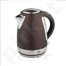 ETA Kettle ETA859890060 Standard kettle, Stainless steel, Brown, 2200 W, 360° rotational base, 1.7 L