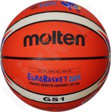 Krepšinio kamuolys rubber BGS1-E5F Eurobasket 2015