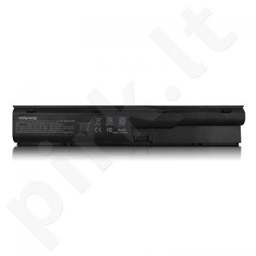 Nešiojamo kompiuterio baterija Whitenergy HP ProBook 4330s 10.8V 4400mAh juoda