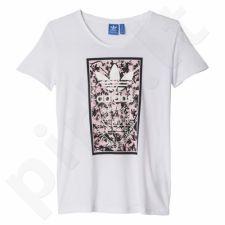 Marškinėliai Adidas ORIGINALS Soccer Flowers2 W AJ8974