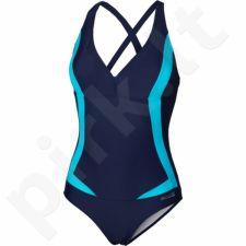 Maudymosi kostiumėlis Aqua-Speed Greta W 04 tamsiai mėlyna