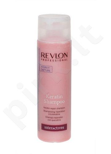Revlon Keratin atstatomasis šampūnas, 250ml, kosmetika moterims