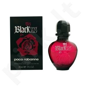 PACO RABANNE BLACK XS FOR HER EDT vapo 30 ml moterims