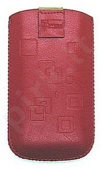 17 MAGNET SQUARE universalus dėklas N6300 Telemax raudonas