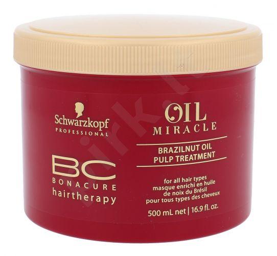 Schwarzkopf BC Bonacure Oil Miracle, Brazilnut Oil, plaukų kaukė moterims, 500ml