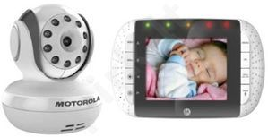 Video mobili auklė Motorola MBP33, Kamera,  LCD ekranas, 2.4 CHz, Dvipusis ryšis