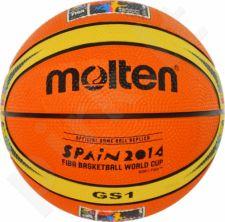 Krepšinio kamuolys rubber BGS1-WCM