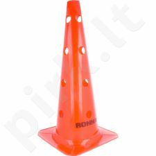 Stovelis su skylutėmis Ronnay 45 cm oranžinis