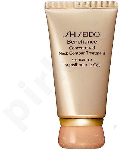 Shiseido Benefiance, Concentrated Neck Contour Treatment, kaklo ir dekoltė kremas moterims, 50ml