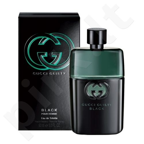 Gucci Guilty Black, tualetinis vanduo (EDT) vyrams, 90 ml